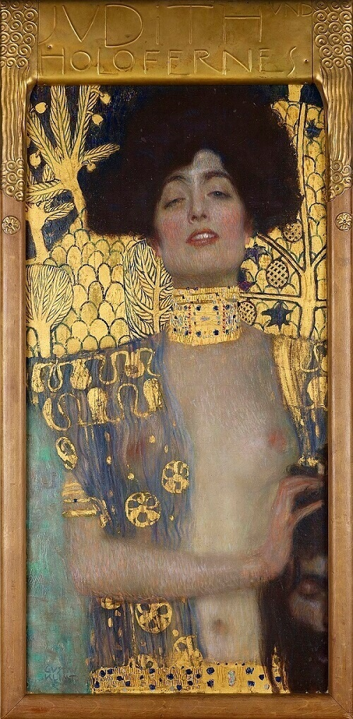 Judith and the Head of Holofernes, 1901 by Gustav Klimt