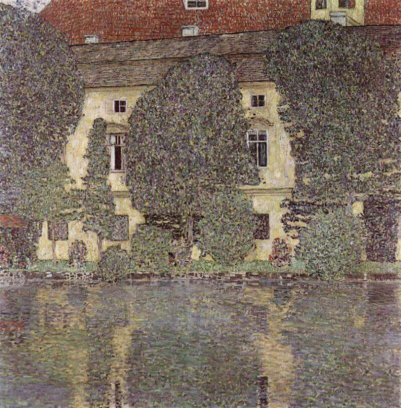 Schloss Kammer on Attersee II, 1909 by Gustav Klimt