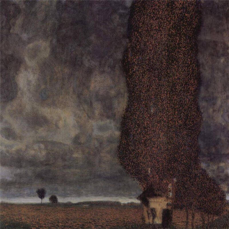 The Big Poplar, 1902 by Gustav Klimt